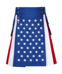 American Flag Utility Kilt Usa