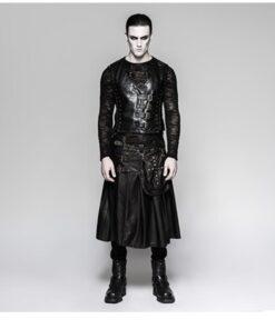 Real Leather Kilt For Mens